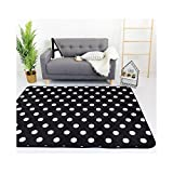 yoga mat marvel - Simple Korean Design Kids Rug - Sofa Coffee Table Polyester Carpet Indoor Floor Decor 59 x 28 Inch