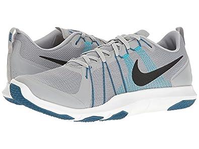 ff9d53129f3f Nike Men s Flex Train Aver Grey Training Shoes (8 UK India)  Buy ...