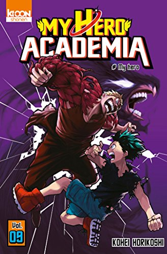 my hero academia t09 french edition