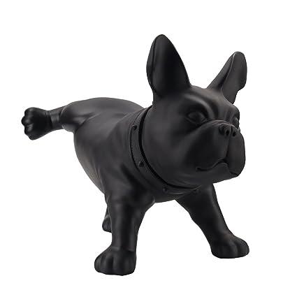 Amazon Com Huachi Modern Creative French Bulldog Dog Sculpture Pe