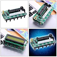 HATCHMATIC AD9850 6 Bands 0-55MHz Frequency LCD DDS Digital Signal Generator Module DC 8V-9V Programmable