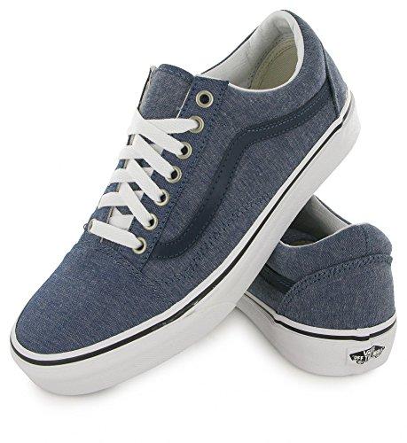 41 Old Blue Blau UA Sneaker Skool Blau EU Chambray Herren Vans RwPYqB1U