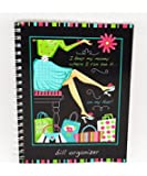 Monthly Bill Paying Organizer Budget Book with Pockets - Cool Girl Shopping