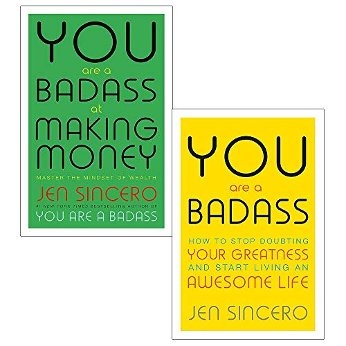 Book cover from You are a badass and making money 2 books collection set by Jen Sincero