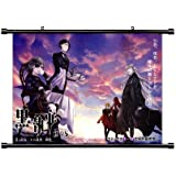 Black Butler Anime Fabric Wall Scroll Poster (32 x 23) Inches