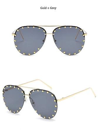NHQA Gafas de Sol Gafas de Sol de Mujer sin Montura Shades ...