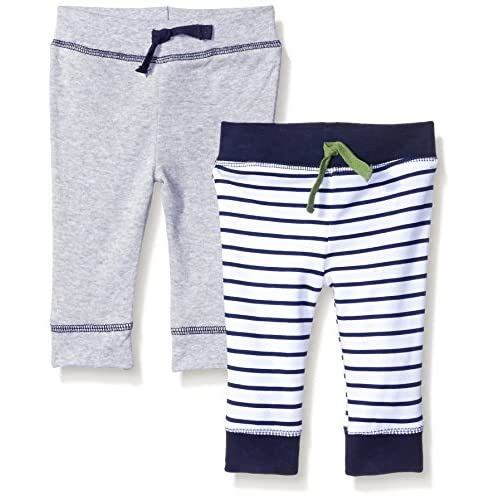 Sunny /& Sal Baby Pant Set Unisex-Baby 2-Pack