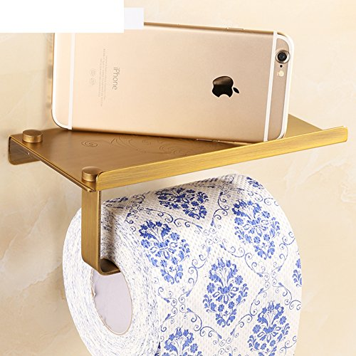 0adbd0b06340 Copper Antique Toilet Tissue Box/European Style Retro Mobile Phone ...