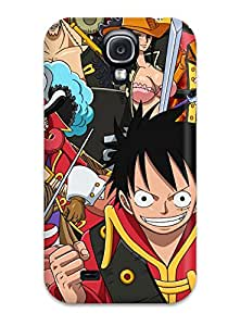 Brand New S4 Defender Case For Galaxy (one Piece Cartoons Images)
