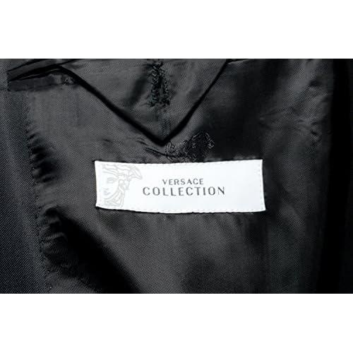 6192a3aa6 Versace Collection Men's 100% Wool Black Blazer Sport Coat US 44 IT ...