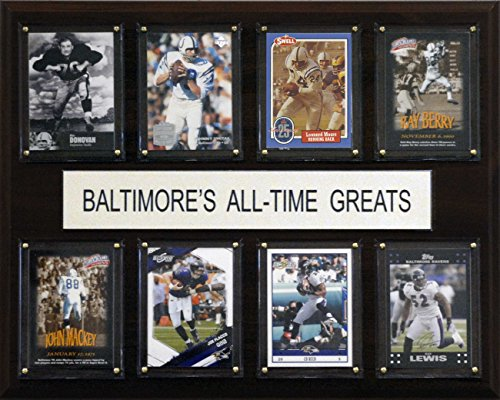 NFL Baltimore Ravens All-Time Greats Plaque ()