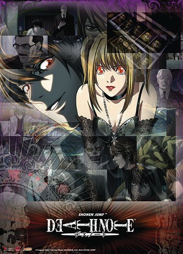 Great Eastern Entertainment Death Note Misa and Light Wall Scroll, 33 by - Wall Misa Scroll