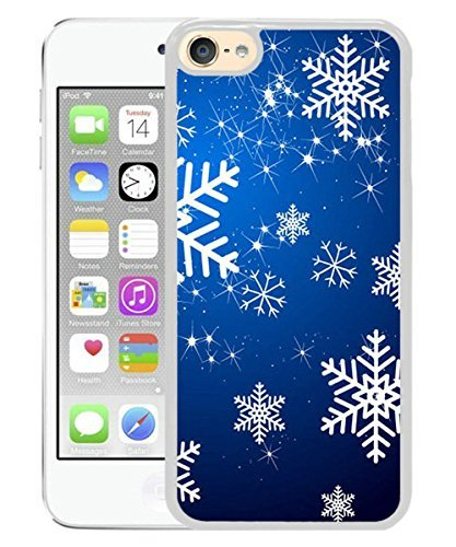 Christmas Snowflake 2 White for iPod touch 6 Case