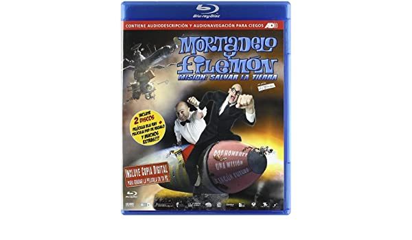 Amazon.com: Mortadelo Y Filemón. Misión: Salvar La Tierra (BD + DVD + Copia Digital) [Blu-ray] [Import espagnol]: Movies & TV