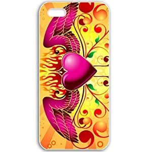 Apple iPhone 5 5S Cases Customized Gifts For Holidays Valentines Day Celebrations Holiday White