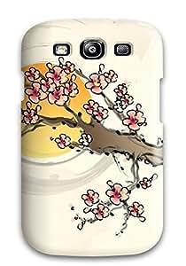 Galaxy High Quality Tpu Case/ Oriental QSxjSPk3738HgpRi Case Cover For Galaxy S3