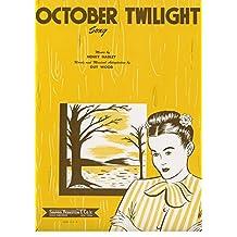 October Twilight: Single Songbook