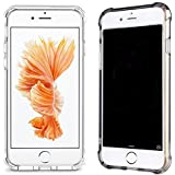 Case for iPhone 7 [2 Pack] CaseHQ Scratch Resistant Clear Protective Grip Protection Bumper Rugged Anti-Slip Grip...