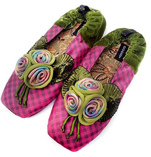 Nieuwe Goody Goody Bon Bon Comfortabele Zijden Slippers