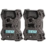 Wildgame Innovations Vision V8i20 LED Infrared Hunting Game Trail Camera, 2-Pack