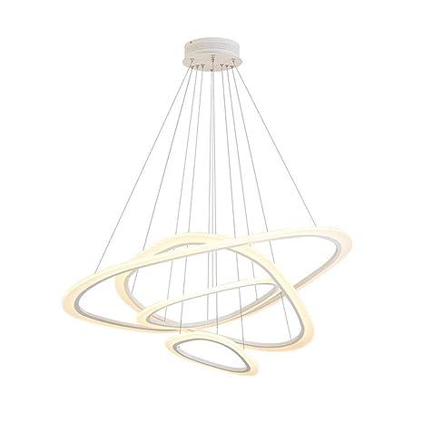Anillo De Acrílico, Lámpara De Diseño Industrial, Lámpara De ...
