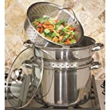Cookpro 512 8 qt. Stainless Steel Multi Cooker44; Silver - 4 Piece