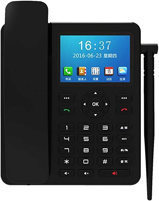 LLYDIAN 4g teléfono inalámbrico Fijo Universal inalámbrico WiFi Bluetooth: Amazon.es: Hogar
