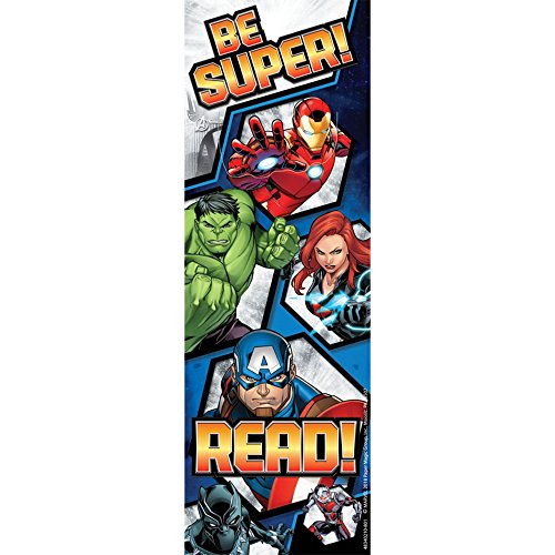 Eureka Marvel Bookmarks for Teachers and Students, 36pc, 2