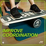 URBNFit Wooden Balance Board Trainer - Roller Board