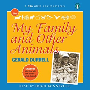 My Family and Other Animals Audiobook