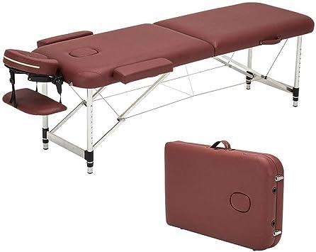 Lettino Pieghevole Per Massaggio.Lfniu Lettino Da Massaggio Portatile Pieghevole Lettino Da