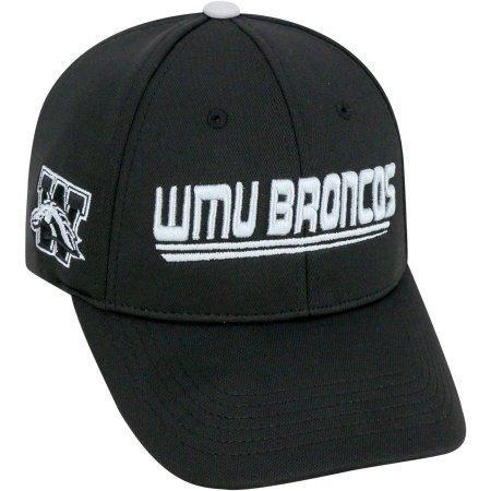 (NCAA University of Western Michigan Broncos Black Baseball Hat \ Cap)