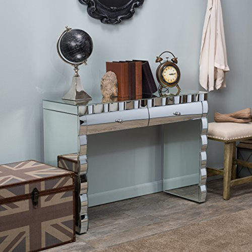 Isadora 2 Drawer Mirrored Console Table