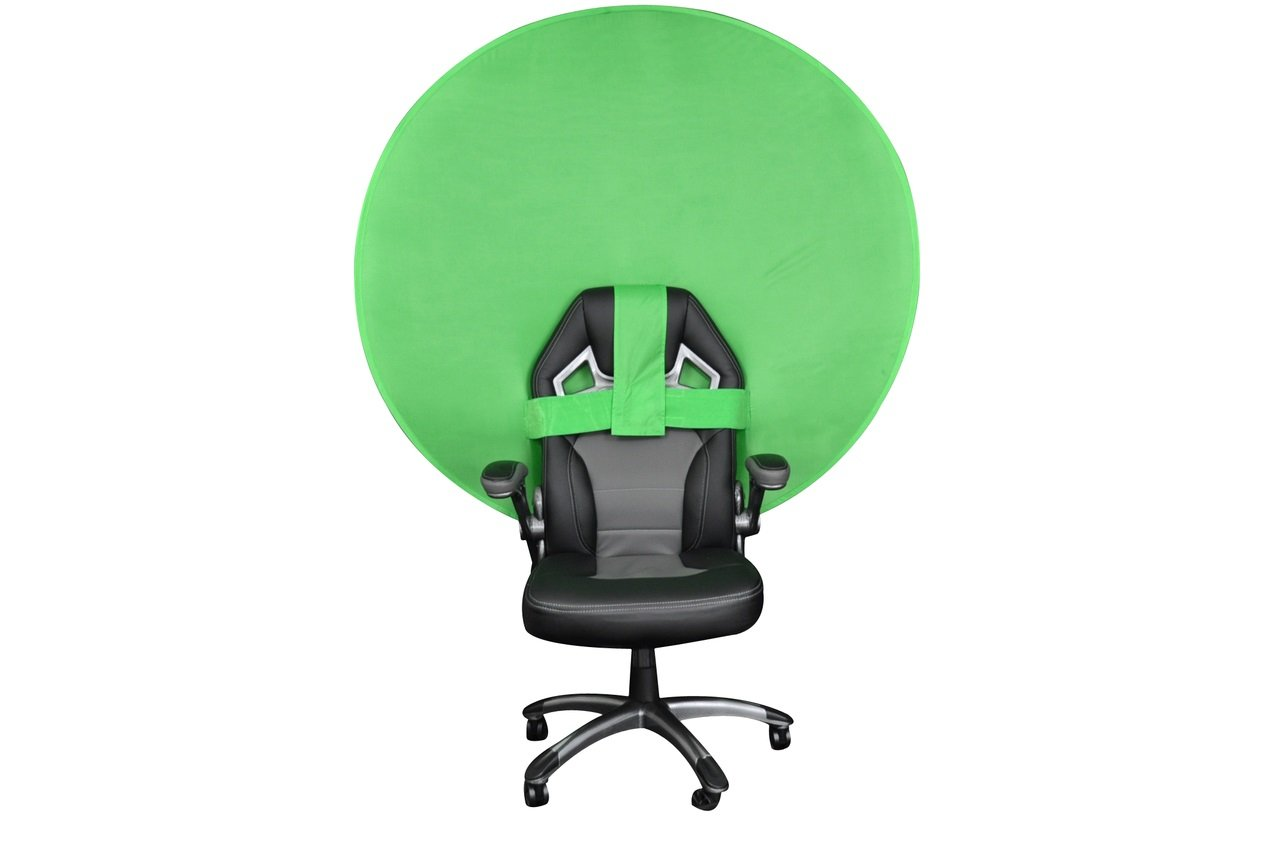 Webaround Portable Webcam Background, 56'' (Chroma Key Green)