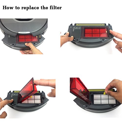 10pcs HEPA Filter Fit for iRobot Roomba 800 870 880 980