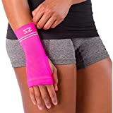 Zensah Compression Wrist Support - Wrist Sleeve for Wrist Pain, Carpal Tunnel - Wrist Support - Wrist Brace
