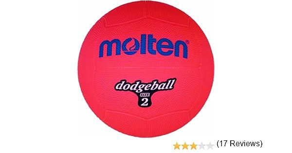 Molten DB2-R - Pelota de balón Prisionero, Color Rojo: Amazon.es ...