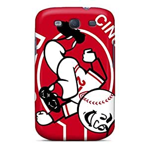 Awesome Cincinnati Reds Flip Case With Fashion Design For Galaxy S3