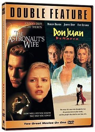 Amazon com: The Astronaut's Wife/Don Juan DeMarco (2pk