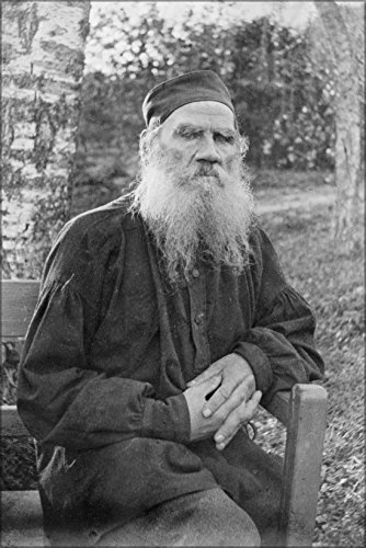 24x36 Poster; Leo Tolstoy 1897, Black And White