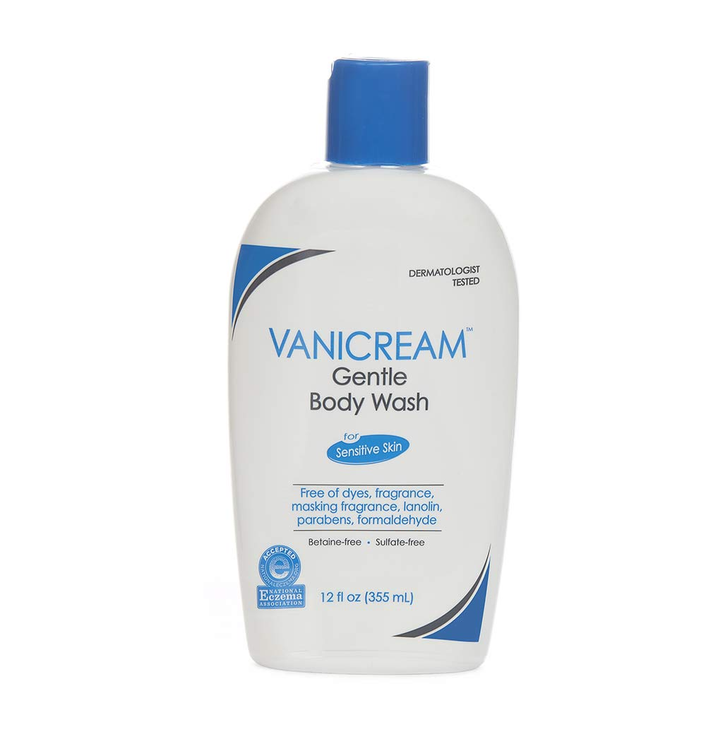 Vanicream Gentle Body Wash | Fragrance, Gluten and Sulfate Free | For Sensitive Skin | 12 Ounce