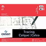 Pro-Art Canson 14-Inch by 17-Inch Tracing Paper Pad, 50-Sheet