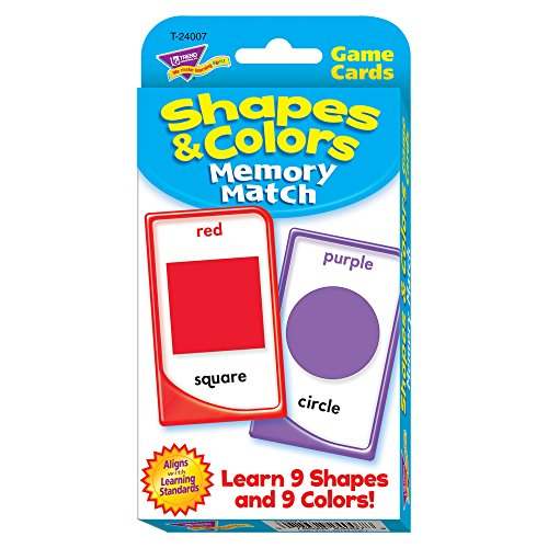 Colors and Shapes Memory Match