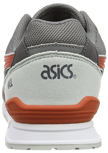 ASICS - Gel-classic, Zapatillas unisex adulto Gris (grey/chili 1124)