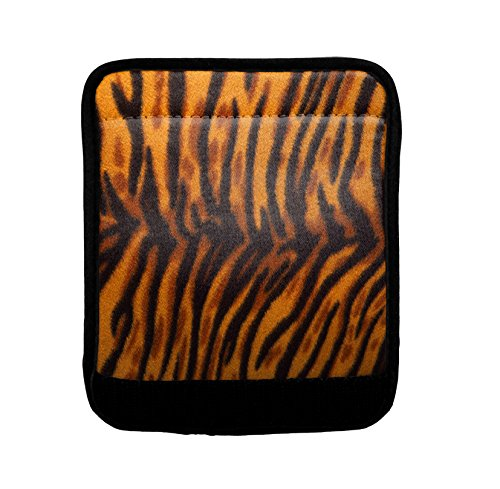 Leaopard Animal Luggage Handle Wrap Finder