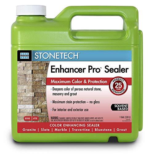 StoneTech Enhancer Pro, Enhancer Sealer for Natural Stone, 1-Gallon (3.785L)