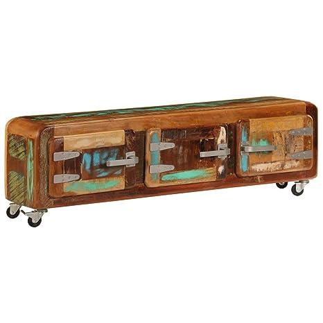 vidaXL - Mueble de TV con Soporte para Mesa Auxiliar y ...