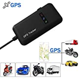 Rupse Global Car GPS Tracker, Long Range Vehicle Tracking Device GSM GPRS Locator Real Time Personal Tracker for Cars Truck Boats Canada iOS