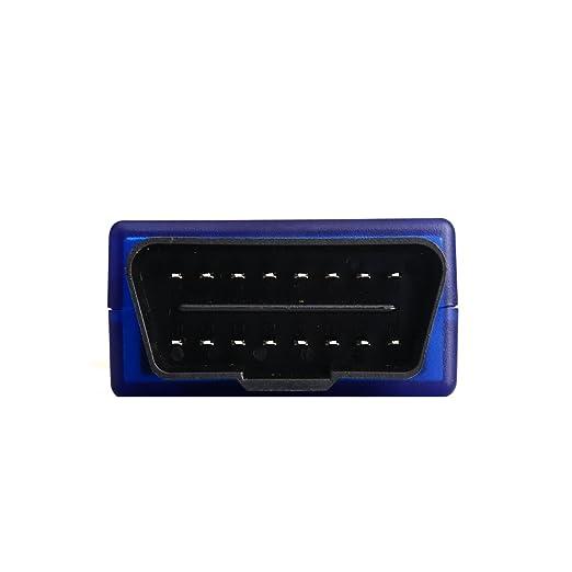 cocare cv1-wf WiFi OBD2 escáner Scan Herramienta Adaptador Luz del motor del cheque lector de código de apuro de diagnóstico para la mayoría de coches y ...
