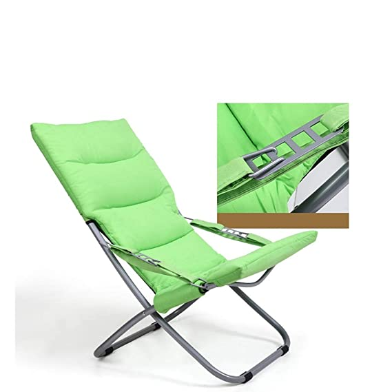 Amazon.com: RUNWEI Canvas Lounge Chair Outdoor Balcony Sun ...